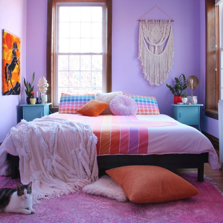 A Celebration of Punchy Colors & Delightful Kitsch in Chicago, IL