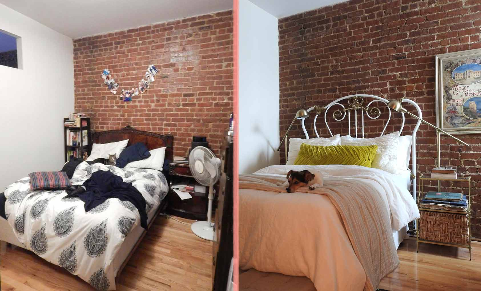 Before & After: A Thrifter's Brooklyn Apartment, Design*Sponge