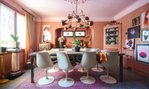 In Ottawa, Ontario, a Bold & Eclectic Melange of Many Styles