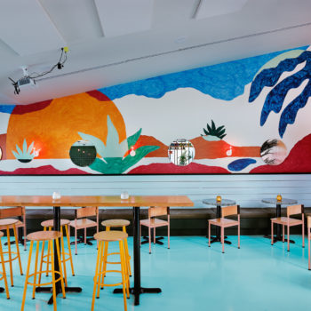 Last Straw in Austin, TX is A Vibrant Escape into Color