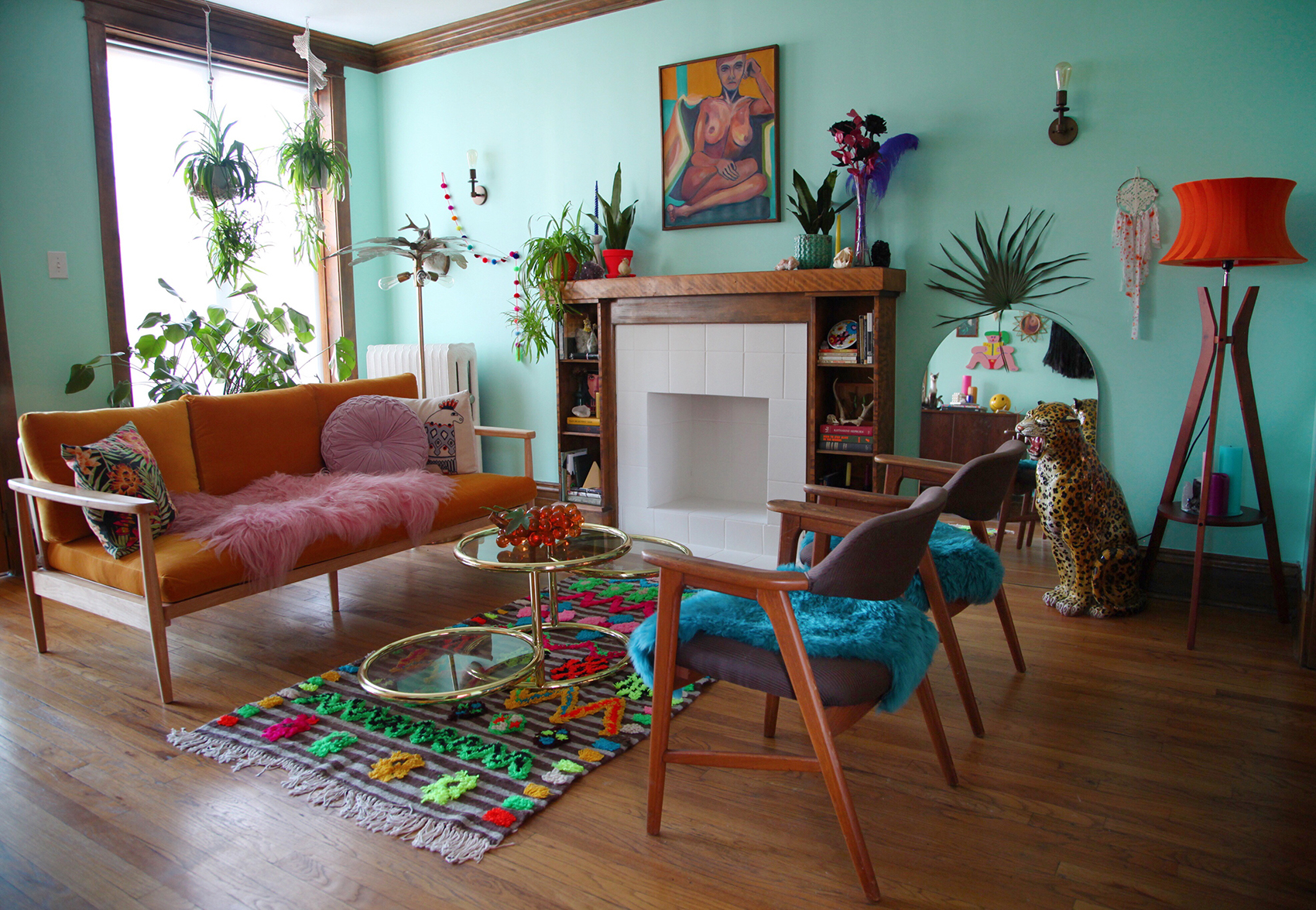 A Celebration of Punchy Colors & Delightful Kitsch in ...