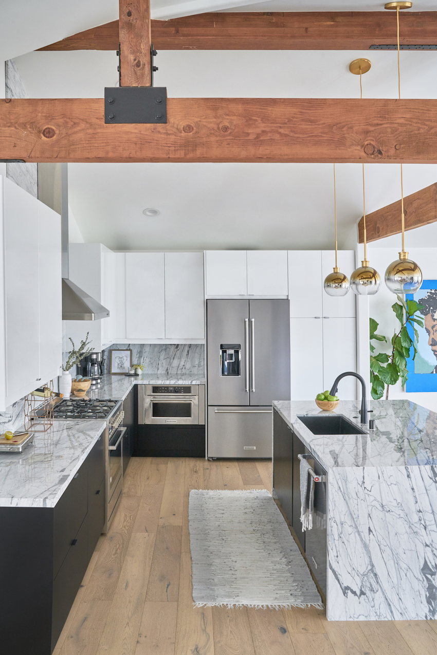 Before and After: A Couple Designs the Modern Kitchen of Their Dreams | Design*Sponge