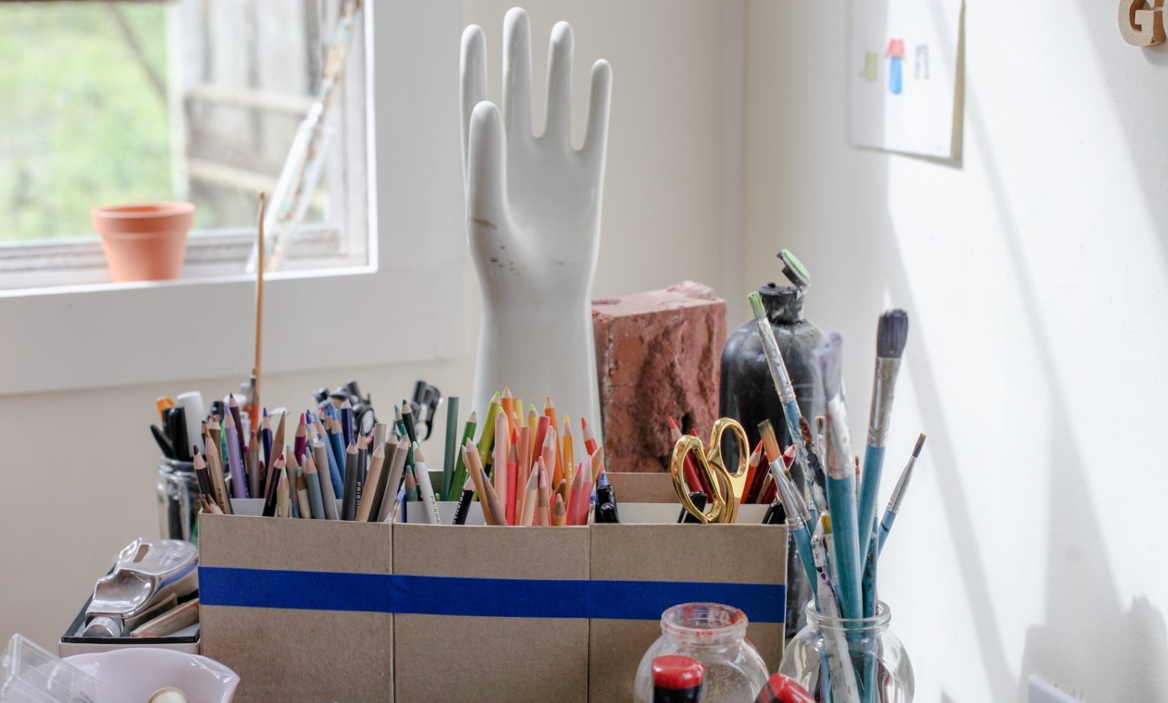 Q&A: Balancing Creative Work & Homeschooling with Painter Adrienne Brown David