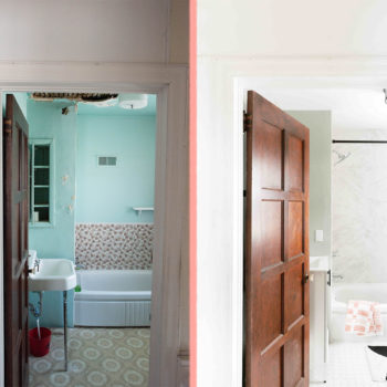 Before & After: A Bathroom Remodel Completed in Spurts