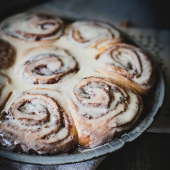Top 20 Recipe Posts of All Time: #14: Cinnamon Rose Rolls with Creme Fraiche Icing