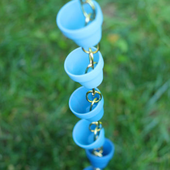 Top 20 DIY Projects of All Time: #16 Ombre Rain Chain