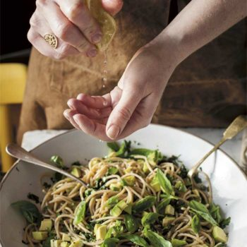 Top 20 Recipe Posts of All Time: #13 Avocado and Lemon Zest Pasta