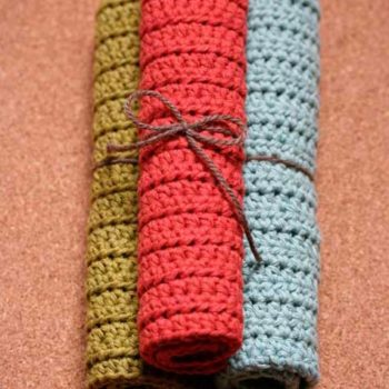 Top 20 DIY Projects of All Time: #18 Crocheted Cotton Dish Scrubbers