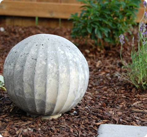 Top 20 DIY Projects of All Time: #15 Concrete Garden Spheres