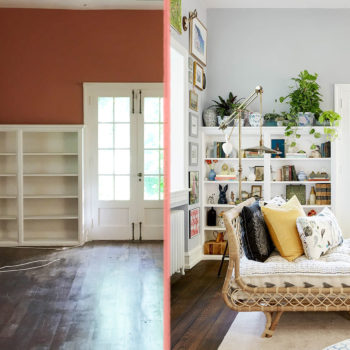 Before & After: Bringing Personal Style to a Traditional Home