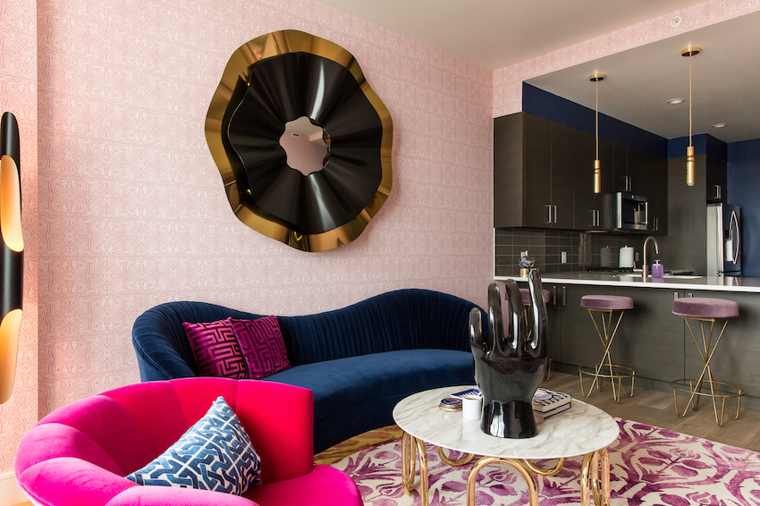 An Austin Condo That Reflects A Client's Animated Style and Fierce Flair | Design*Sponge