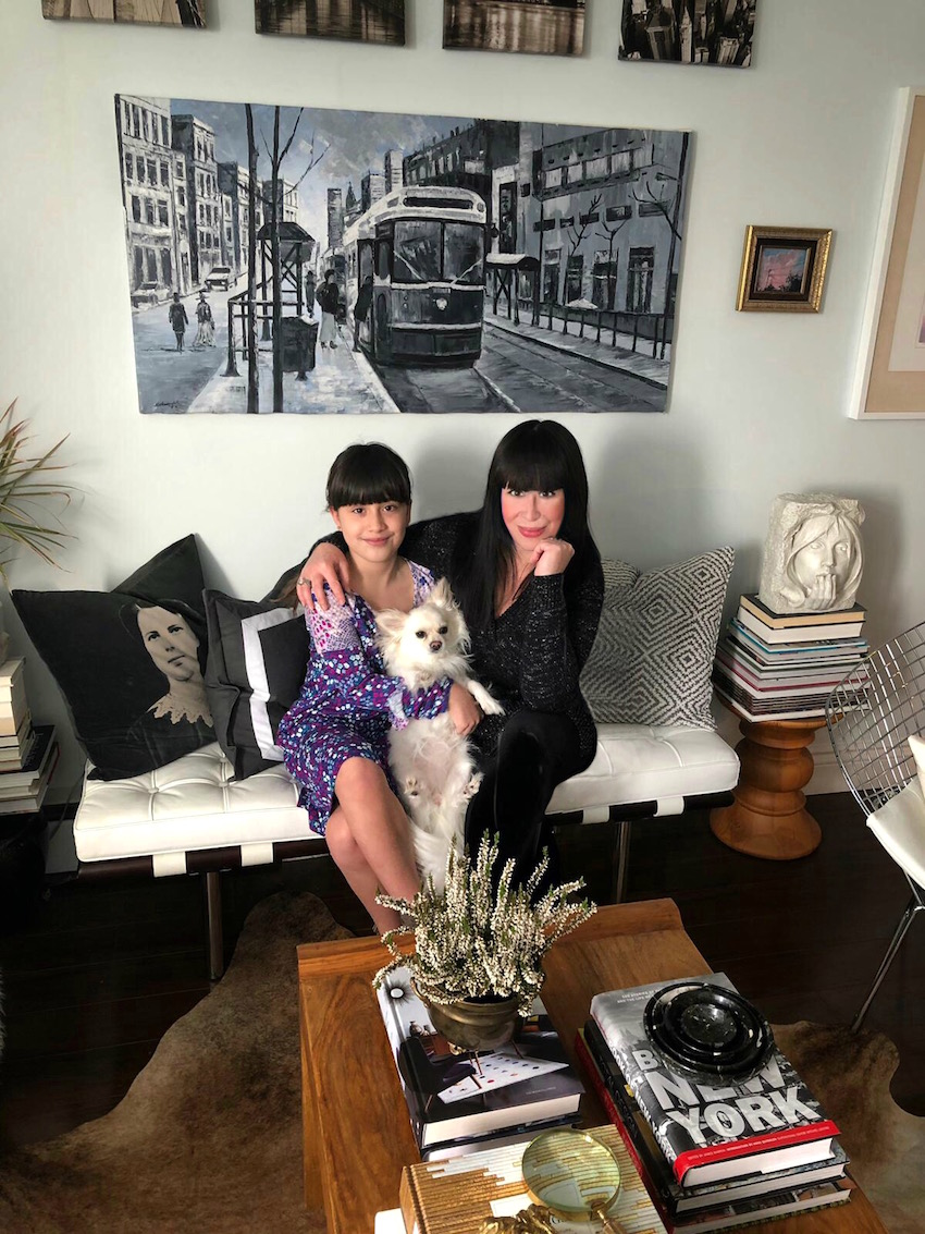 In Toronto, A Mother-Daughter Duo's Apartment Brimming with Art and Memories | Design*Sponge