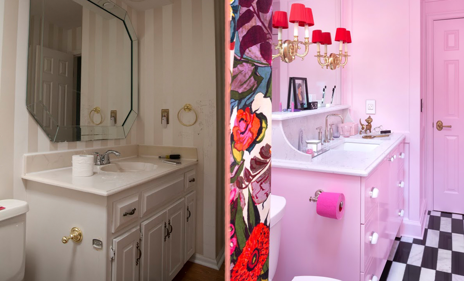 Before & After with Gwen Hefner on Design*Sponge