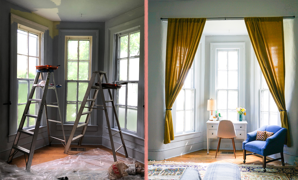 Before & After with Erin Austen Abbott on Design*Sponge