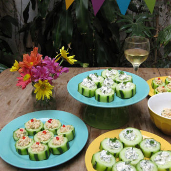 Top 20 Recipe Posts of All Time: #16: Refreshing Cucumber Snacks