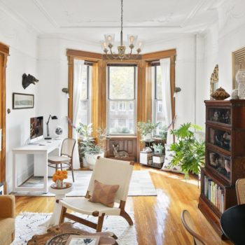 A Beautifully Curated Brooklyn Apartment Split Between Work & Home Life