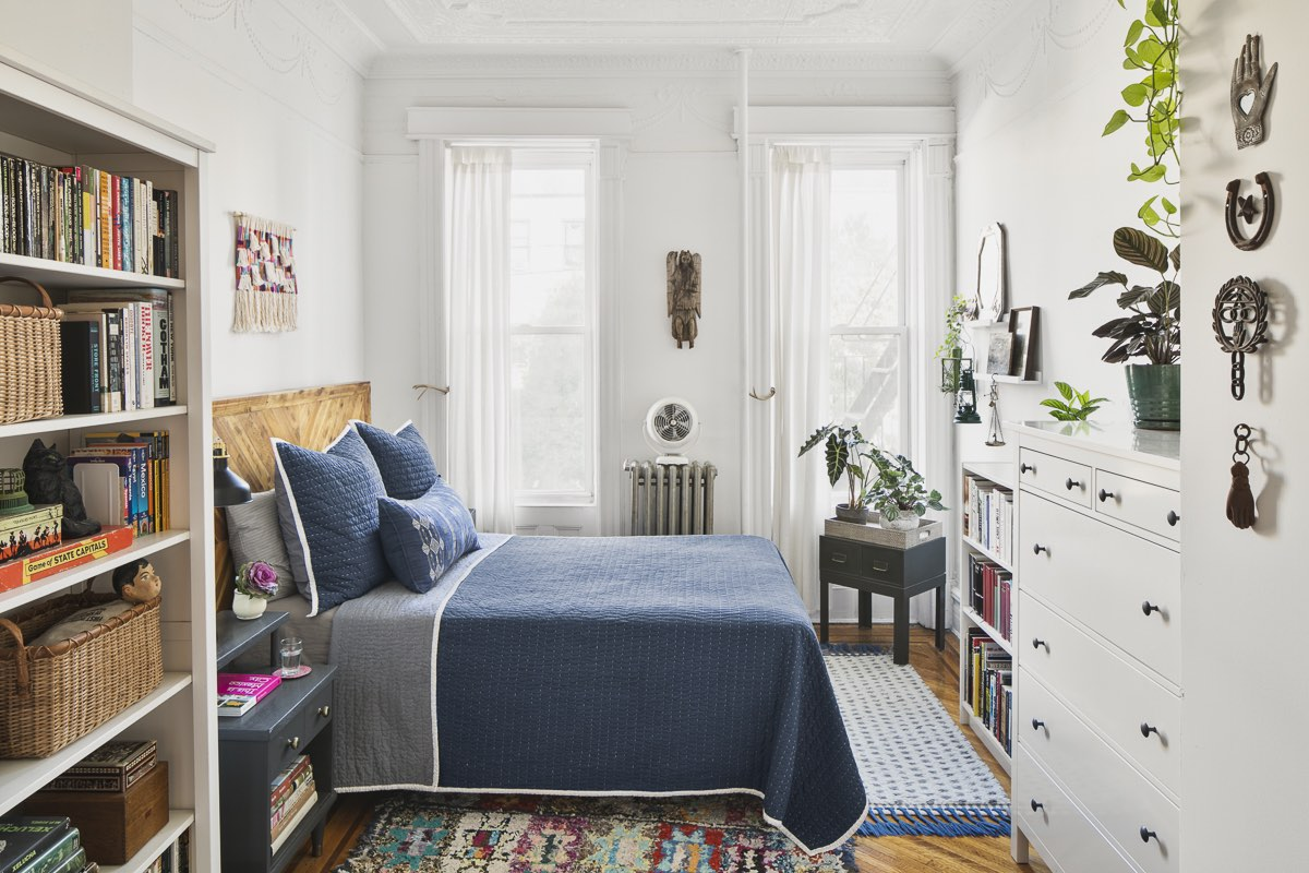 A Beautifully Curated Brooklyn Apartment Split Between Work and Home Life | Design*Sponge