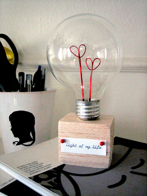 Top 20 DIY Projects of All Time: #6 Valentine Lightbulb