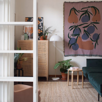 A Pattern Designer's 280-Square-Foot Apartment Comes into Bloom