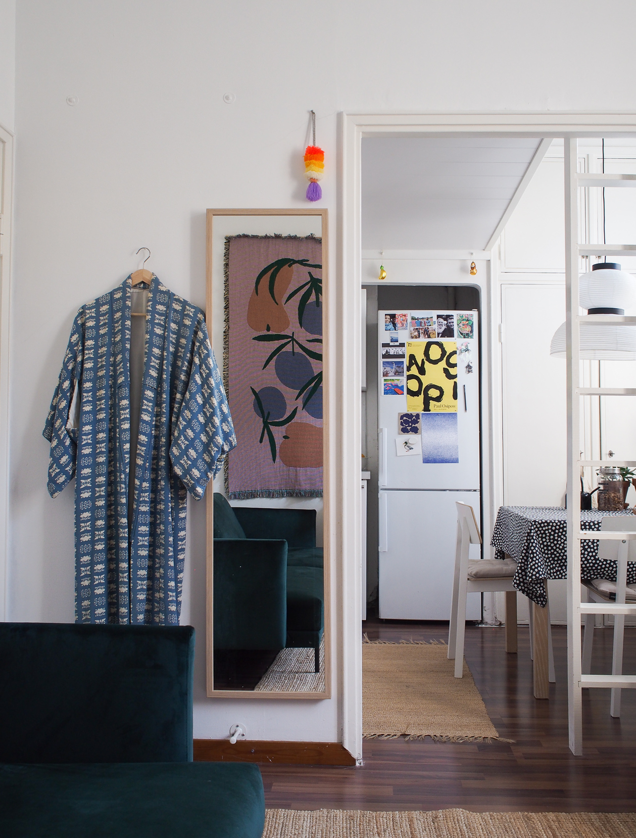 A Pattern Designer's 280-Square-Foot Apartment Comes into Bloom | Design*Sponge