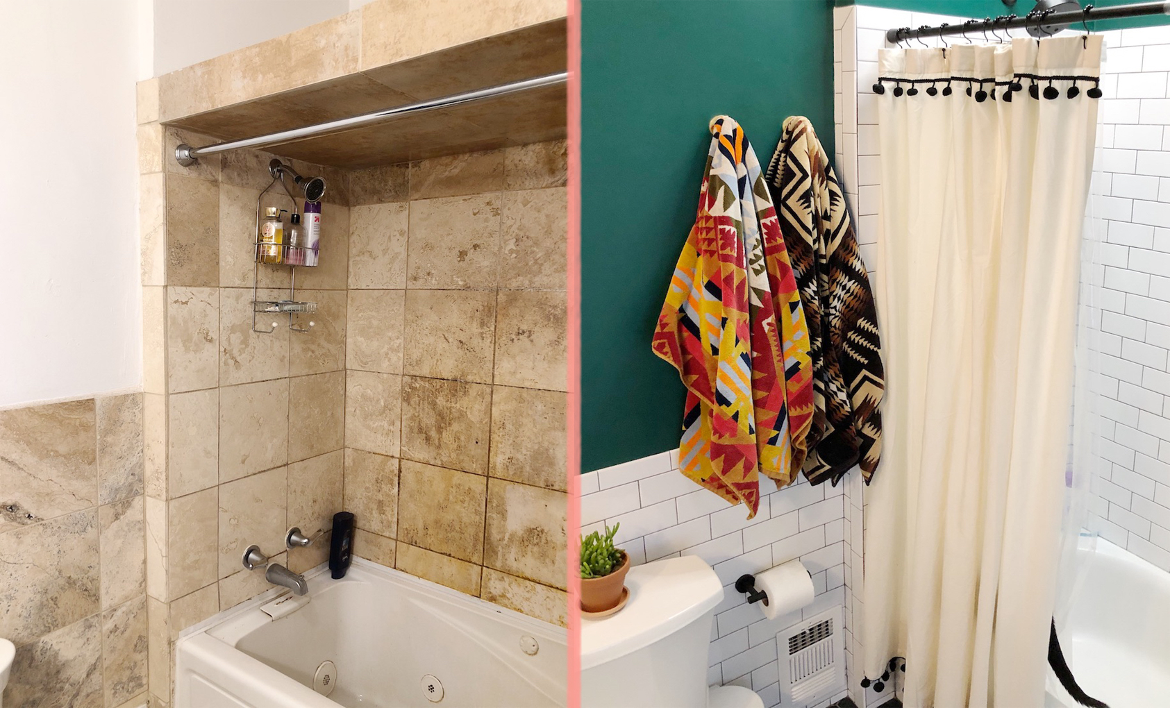 Before and After: Bathroom Remodel with Mollie Green