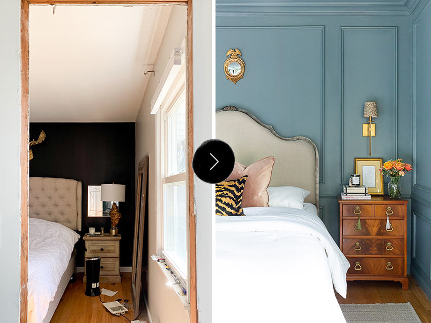 Before & After: A Bedroom Turns into A Modern Traditional Gem | Design*Sponge