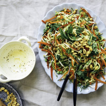 "Top 20 Recipe Posts of All Time: #4 Raw ""Pad Thai"" Salad"