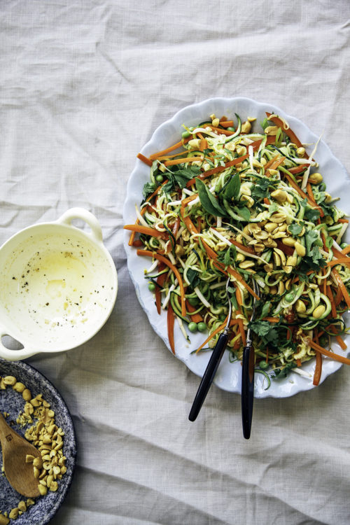 Top 20 Recipe Posts Of All Time 4 Raw Pad Thai Salad