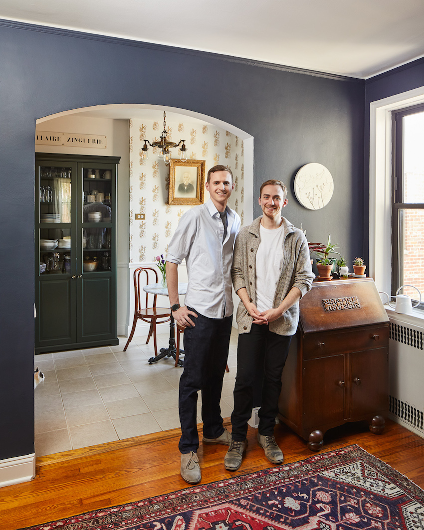 In Brooklyn, A Couple Enhances Period Charm with a Personal Twist | Design*Sponge