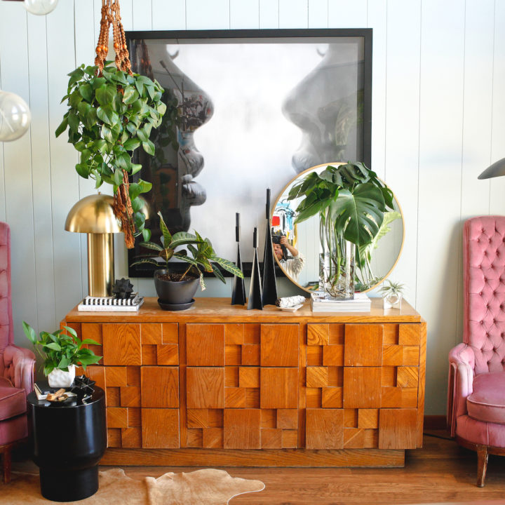Revisiting A Memphis Home Full of Plants, Personality & DIY Touches