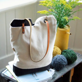 Top 20 DIY Projects of All Time: #3 Renske's Minimalist Tote Bag
