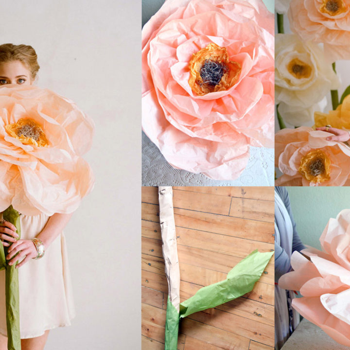 Top 20 DIYs of All Time: #2 Giant Paper Flowers from Ruche