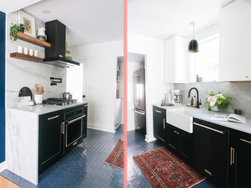 Before & After: A Kitchen In Seattle Gets A Clean & Modern Overhaul