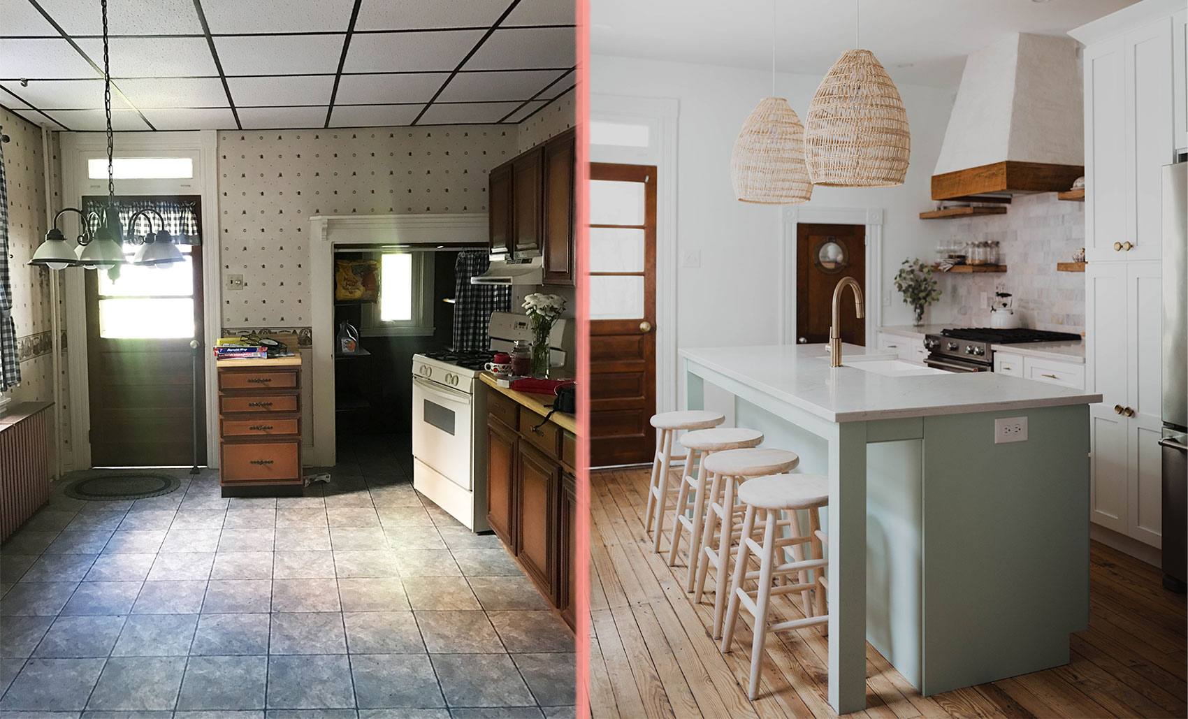 Before After Enlisting Expertise To Transform An 1800s Row Home Design Sponge