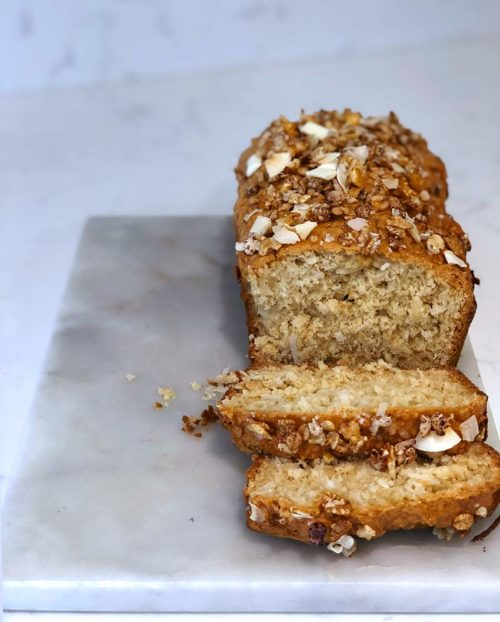 Easy-to-Make Sweet Coconut Quick Bread