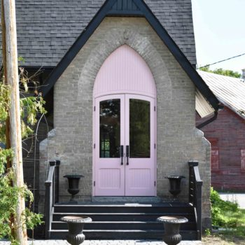 An 1880s-Era Church Turned Vacation Home in Ontario