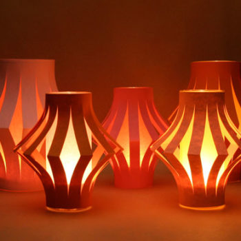 diy wednesdays: table lanterns